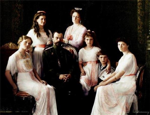 II Николай хааны гэр бүл